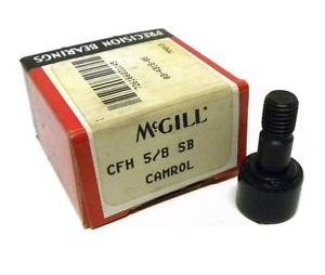 "NEW MCGILL CFH 5/8 SB CAM FOLLOWER 5/8"" ROLLER DIAMETER"