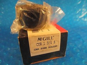 MCGILL CYR1 3/4 S, Yoke Roller; Needle Bearing, CYR 1 3/4 S
