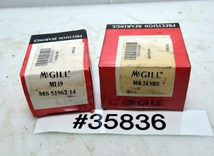 1 Lot of McGill Bearings MR 24 SRS, MS 51962 14 (Inv.35836)