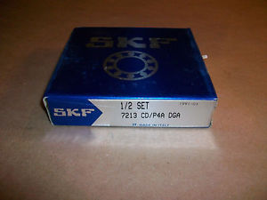 SKF Roller Bearing 1/2 Set 7213 CD/P4A DGA NEW IN BOX