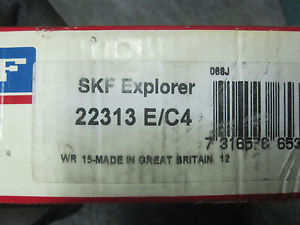 NEW SKF BEARING 22313E/C4 NEW IN BOX