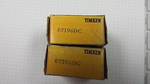 07196DC Timken Double Cup for Tapered Roller Bearings