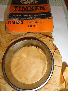 Timken Tapered Single Cup Bearing, 28921-B