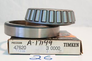 """""""NEW OLD"""" Timken Taper Ball Bearing 47620-3 47686-3 (3 Available)"""