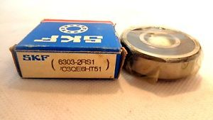 NEW IN BOX SKF 6303-2RS1/C3QE6HT51 BALL BEARING
