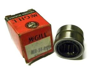"""NEW MCGILL MR-14-RSS NEEDLE ROLLER BEARING 7/8"""" X 1-3/8"""" X 1"""" (4 AVAILABLE)"""