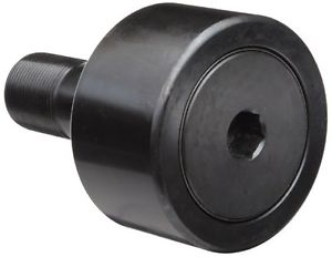McGill CF1 3/8SB Cam Follower, Standard Stud, Sealed/Hex Hole, Inch, Steel,