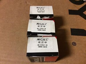 3-McGILL bearings#MI 22 4S ,Free shipping lower 48, 30 day warranty!