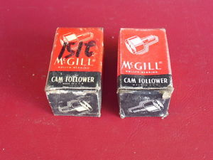 (2)NEW McGill Camrol CF-7/8 & CF-1-B Cam Followers Just $14.99