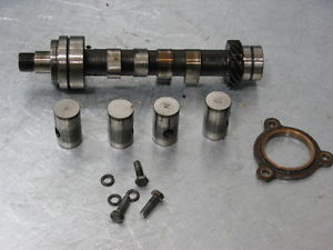 MOTO GUZZI CONVERT V1000 V 1000 75 76 CAMSHAFT CAM SHAFT + FOLLOWERS ROLLERS