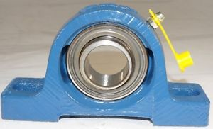 New Pillow Block Ball Bearing Two-Bolt Base Standard Duty SKF P/N: SY1.FM