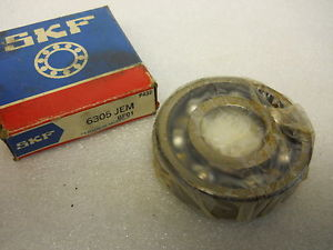 SKF 6305 JEM DEEP GROOVE BALL BEARING 25 X 62 X 17MM NEW CONDITION IN BOX