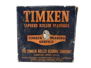 Timken Service 64AX24 Tapered Roller Bearing & Cup USA Vintage New Old Stock