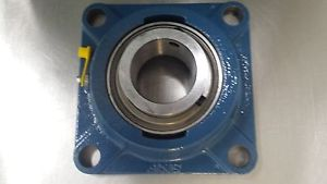 NEW – OLD STOCK SKF YAT 211-200 FOUR BLOT FLANGE BEARING WITH ALLEN WRENCH