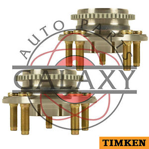 Timken Pair Front Wheel Bearing Hub Assembly Fits Ford Mustang 1994-2004