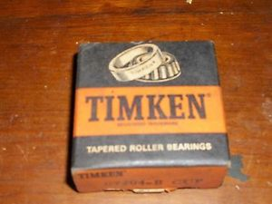TIMKEN 07204B TAPERED ROLLER BEARING, SINGLE CUP, STANDARD TOLERANCE, FLANGED…