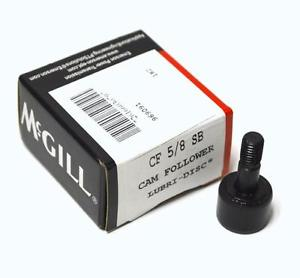 "NEW MCGILL CF-5/8-SB CAMROL CAMFOLLOWER 3/4"" OD 7/16"" WIDTH (2 AVAILABLE)"