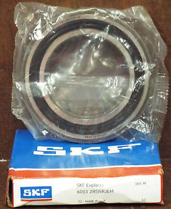 1 NEW SKF 6013 2RSNRJEM SINGLE ROW BALL BEARING NIB *MAKE OFFER*