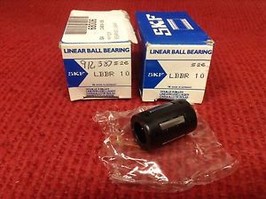 SKF – Linear Ball Bearing – Part #LBBR 10 – Lot of (2) – NEW