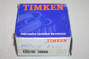 Timken 43319D #3 Precision Tapered Bearing Double Cup Class 3 * NEW *