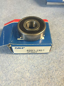 SKF 6201-2RS1 C3 HT NEW IN BOX