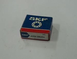 NEW SKF Bearing, # 6304 2RSJEM, WARRANTY
