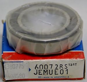 NEW SKF 6007-2RSJEMUE01 Single Row 2 Seals Radial Ball Bearing