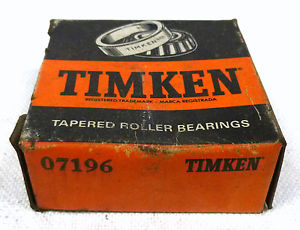 Timken 07196 Tapered Roller Bearing Cup