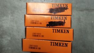 LM814849 Timken Tapered Roller Bearing
