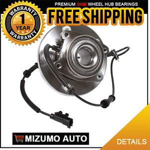 1 New Front Left or Right Wheel Hub Bearing Assembly w/ ABS GMB 730-0264