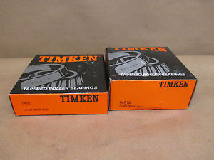 TIMKEN 6420 & 6461A BEARING/RACE SET NEW