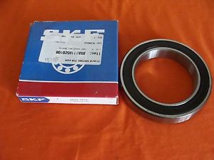 NEW OLD STOCK SKF SEALED DEEP GROOVE BALL BEARINGS 6020-2RS1 MADE IN USA