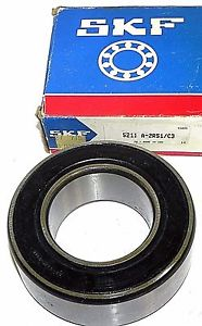 NIB SKF 5211-A-2RS1/C3 BALL BEARING 5211A2RS1/C3