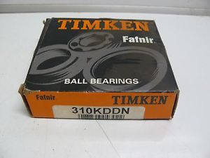 NEW TIMKEN FAFNIR 310KDDN BALL BEARING SINGLE ROW DEEP GROOVE 50X110X27MM