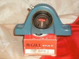McGILL C-25-K-1 NYLA-K PILLOW BLOCK BEARING C25K1