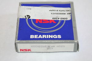 NSK 6008-DDUC3 Sealed Deep Groove Bearing 6008DDUC3 * NEW *