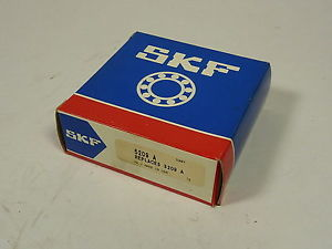 SKF 5209-A Double Row Angular Bearing 84x44x20mm Replaces 3209-A NEW