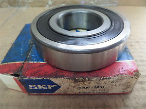 SKF Ball Bearing One Side Rubber Sealed 6309-2RS1 6309 2RS1 63092RS1 New