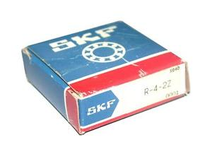 BRAND NEW IN BOX SKF BALL BEARING 1/4IN ID 5/8IN OD R-4-2Z (2 AVAILABLE)
