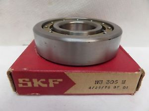 NEW SKF CYLINDRICAL ROLLER BEARING NU 306 M NU306M 3NU06