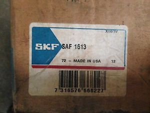 SKF SAF 1613 Pillow block assembly, *New* Bearing.