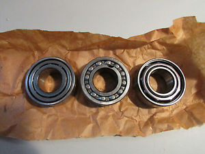 SKF 5207 + MRC 5207K + Fafnir 5207K Bearings Lot of 3!