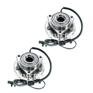 TIMKEN Wheel Bearing & Hub Assembly Front Pair for Dodge Nitro Jeep Liberty NEW