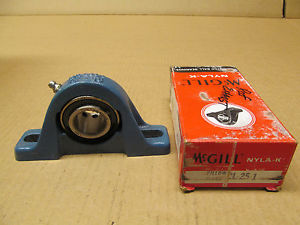 1 NIB MCGILL CL-25-1 CL251 CL25-1 PILLOW BLOCK BEARING 1""