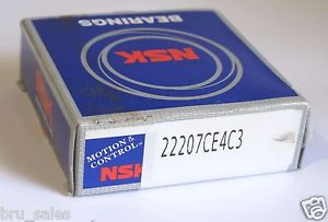 NSK 22207CE4C3 Spherical Roller Bearing