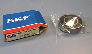 SKF 6004 2RSJEM Sealed C3 Single Row Ball Bearing 20 x 42 x 12mm NIB
