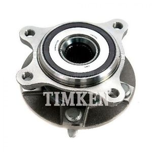 TIMKEN Wheel Bearing & Hub Front Passenger Side for GS300 GS350 IS250 IS350 AWD