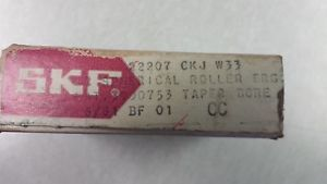22207 CK SKF Tapered Bore Roller bearing 35mm x 72mm x 23mm wide
