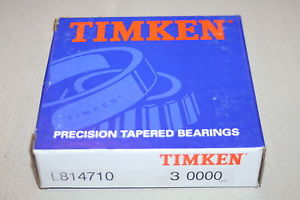 New Timken L814710 Precision ABMA Class 3 Tapered Bearing Single Cup