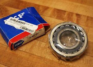 SKF 21307 CC Steel Cage 35X80X21mm Spherical Roller Bearing – NEW